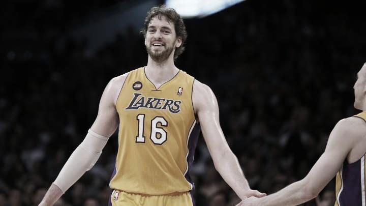 """Pau Gasol: """"Poder terminar mi carrera y jugar el último año en los Lakers sería genial"""""""