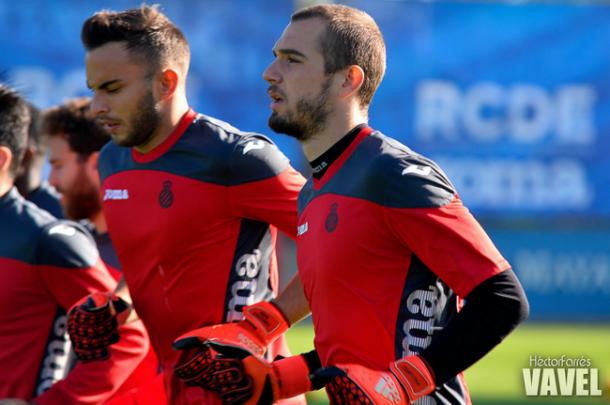 """Pau López: """"Necesitamos ganar y dar una buena imagen en casa"""""""