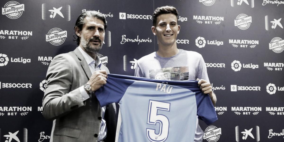 """Pau Torres: """"El Málaga era una opción irrechazable"""""""