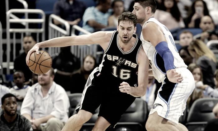 NBA - Gli Spurs potrebbero riabbracciare prima del previsto Pau Gasol