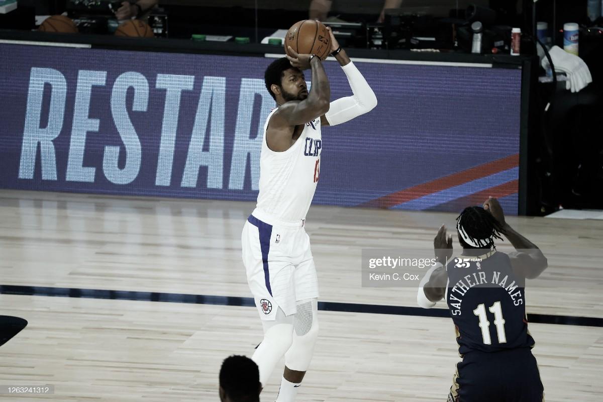 Unos Clippers triplistas arrasan a los Pelicans