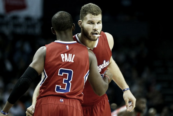 Blake Griffin y Chris Paul, out