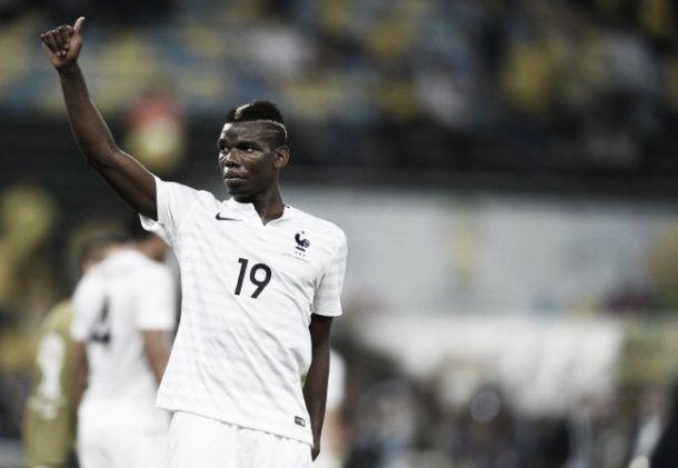 """Destaque francês, Pogba espera sucesso dos Bleus: """"O objetivo é chegar o mais longe possível"""""""