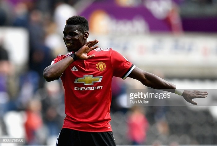 "Paul Pogba hoping for ""confident"" Man Utd to continue hot form after Swansea rout"