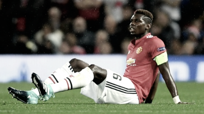 Tegola Manchester United, Pogba out: infortunio muscolare