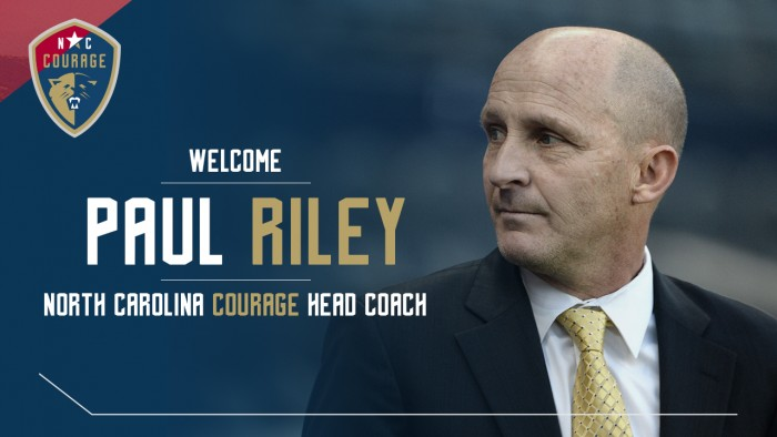 Paul Riley confirmed as North Carolina Courage head coach for 2017 NWSL season