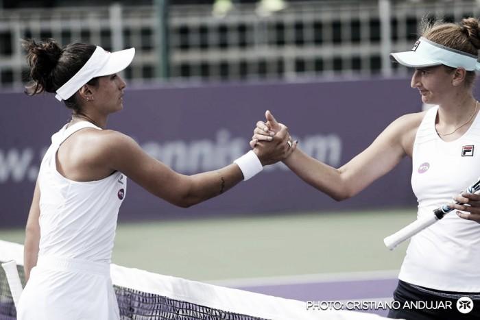 Brasil Tennis Cup: Begu elimina Paula Gonçalves e avança; Jankovic cai
