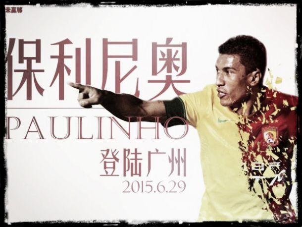 Ficará às ordens de Scolari: Paulinho troca Tottenham pelo Guangzhou