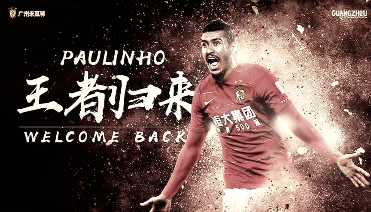Paulinho deixa Barcelona após proposta milionária e acerta volta ao Guangzhou Evergrande