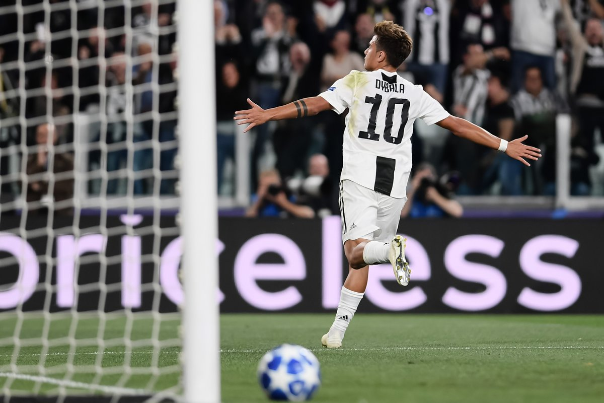 Paulo Champions League Joya Juventus Tripletta Di Dybala
