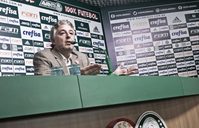 Em nota oficial, Palmeiras explica confusão entre Paulo Nobre e Torcedor do Flamengo
