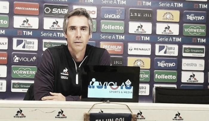 """Fiorentina, Paulo Sousa pensa solo al campo: """"Il Toro ha organizzazione"""""""