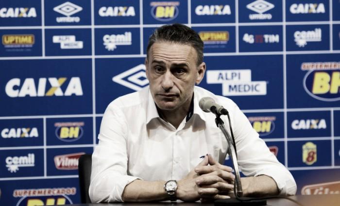 Após empate, Paulo Bento pede paciência e acredita em evolução do Cruzeiro