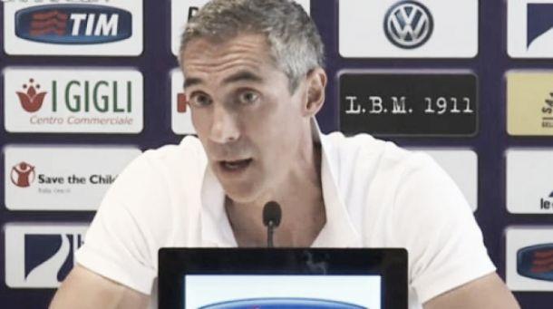 """Fiorentina, parla Paulo Sousa: """"Abbiamo qualità, bisogna migliorare. Dobbiamo aver voglia di vincere"""""""