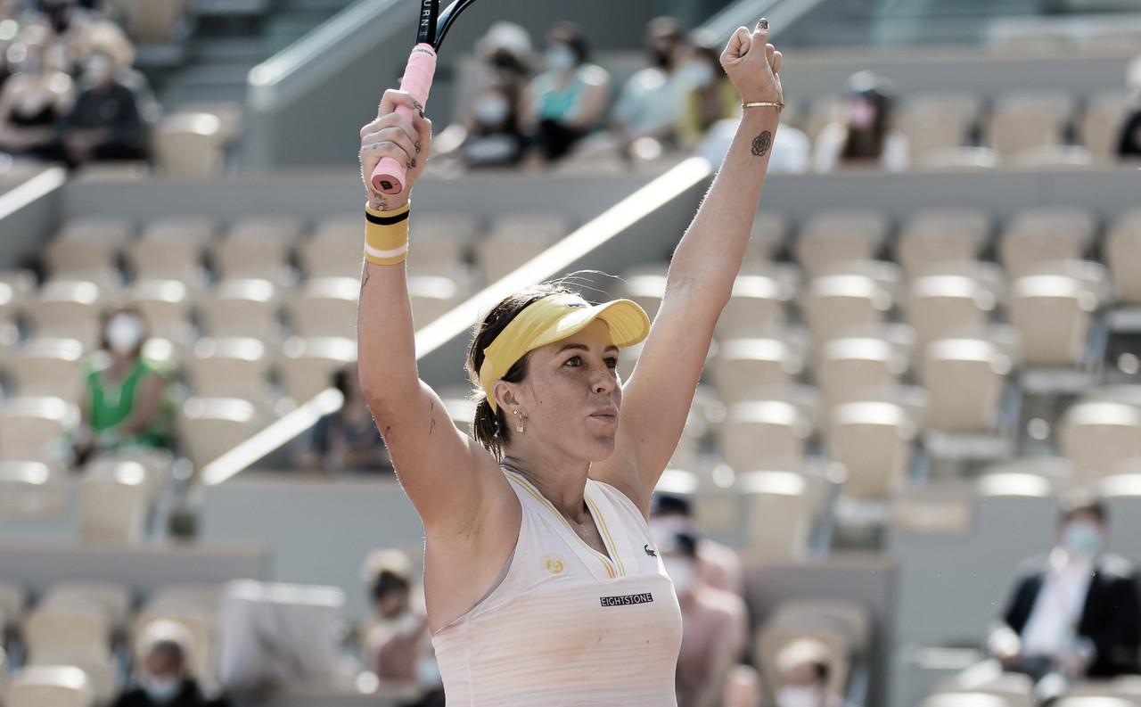 Pavlyuchenkova chega à inédita final de Slam após derrotar Zidansek em Roland Garros