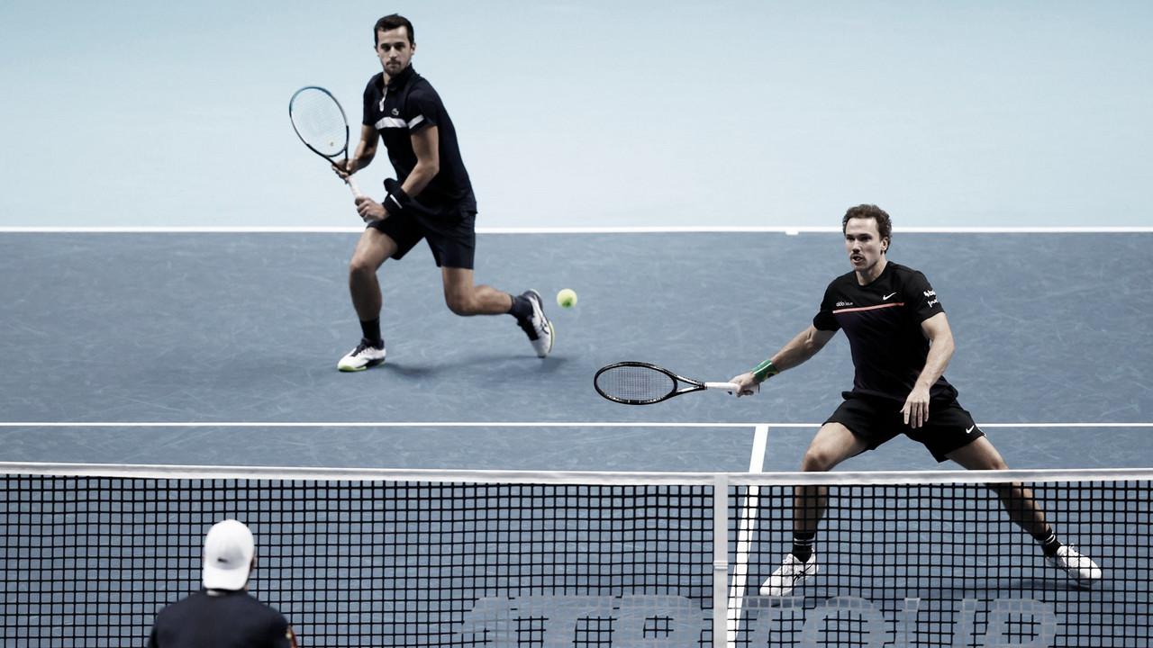 Pavic/Soares viram sobre Melzer/Roger-Vasselin e estreiam vencendo no ATP Finals