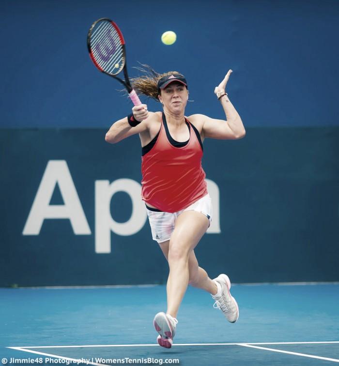WTA Sydney: Anastasia Pavlyuchenkova upsets Svetlana Kuznetsova in straight sets