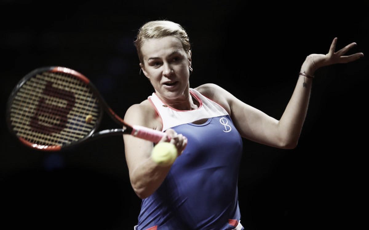 WTA Stuttgart: Anastasia Pavlyuchenkova edges through tough fight, stuns Madison Keys in three sets
