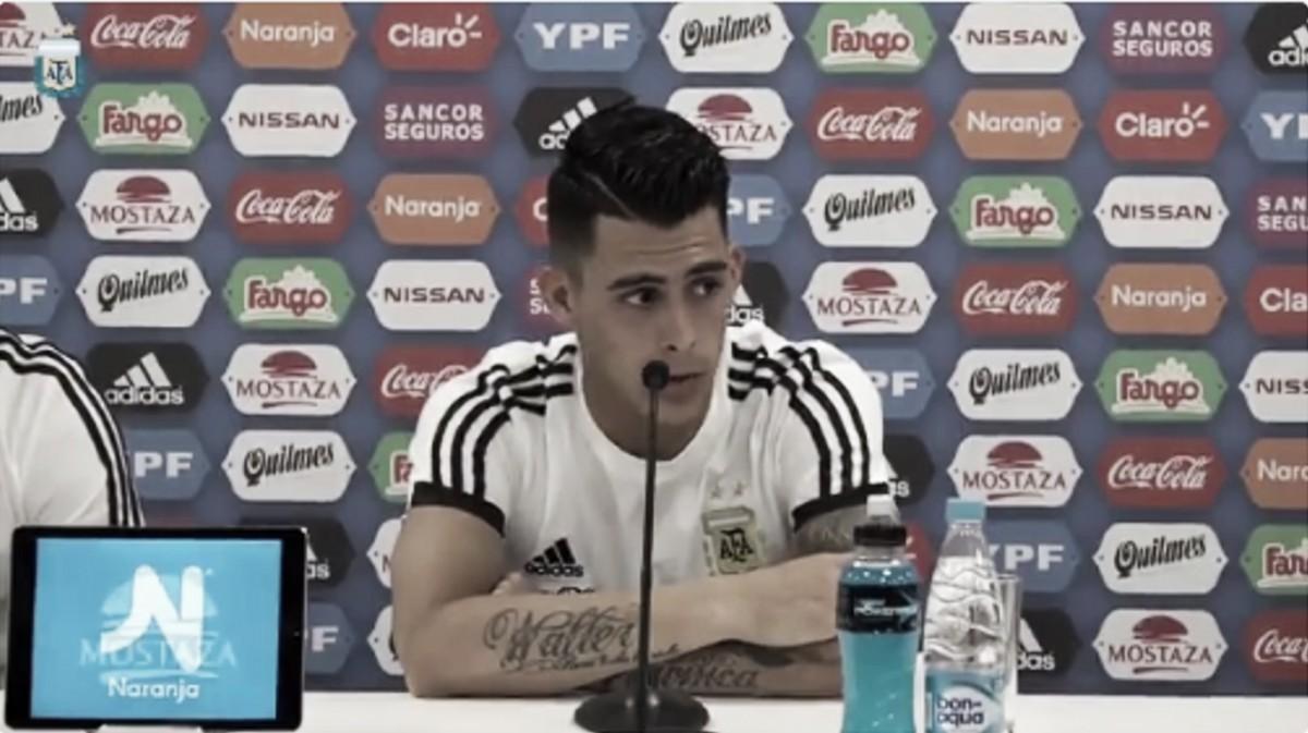 """Pavón: """"Es un momento único debutar con la selección"""""""