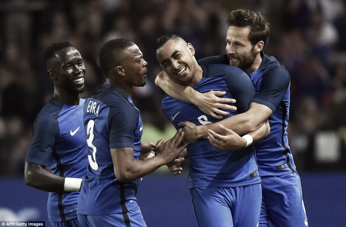 Dimitri Payet proud of last minute winner for France against Cameroon