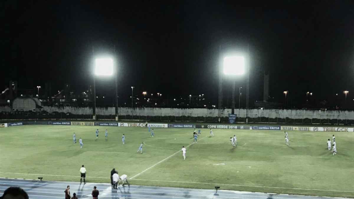 Em jogo eletrizante, Paysandu bate Santos-AP e sai em vantagem nas quartas da Copa Verde