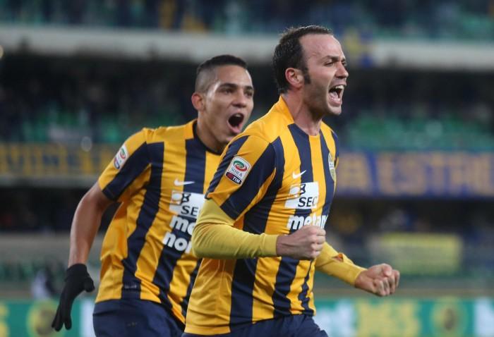 Cuore Hellas, il Milan si ferma ancora: Siligardi beffa Brocchi al 94' (2-1)