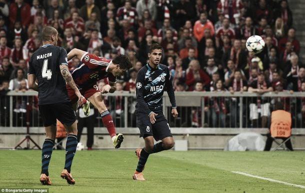 Liga dos Campeões: Em Munique, FC Porto foi verbo de chacinar