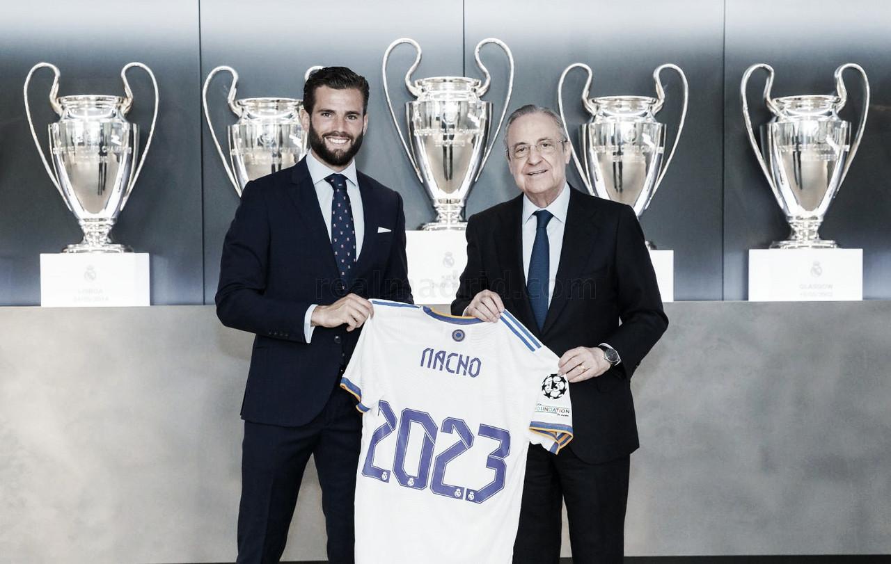 Nacho renueva hasta 2023