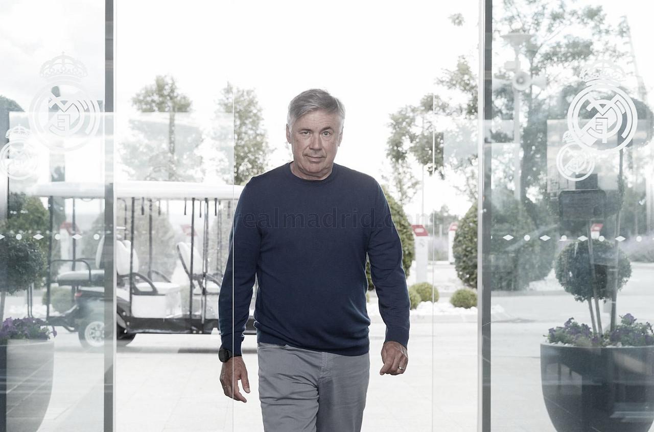Ancelotti se pone manos a la obra