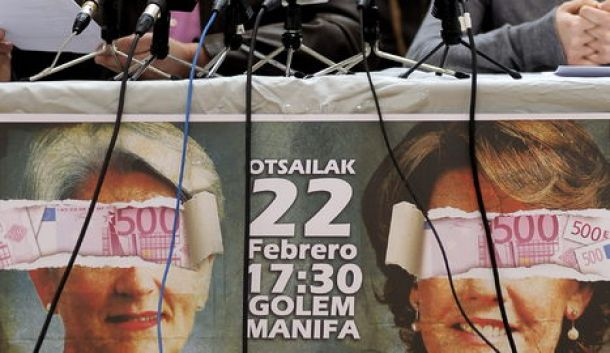 Pamplona contra la corrupción política