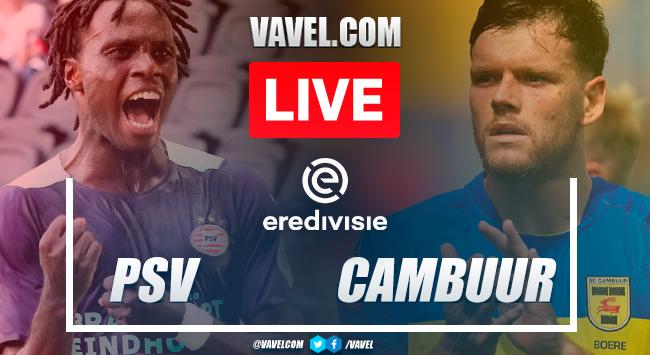 Goals and highlights: PSV Eindhoven 4-1 Cambuur Leeuwarden in Eredivisie 2021