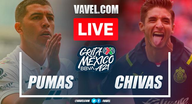 Highlights: Pumas 0-0 Chivas in Liga MX 2021