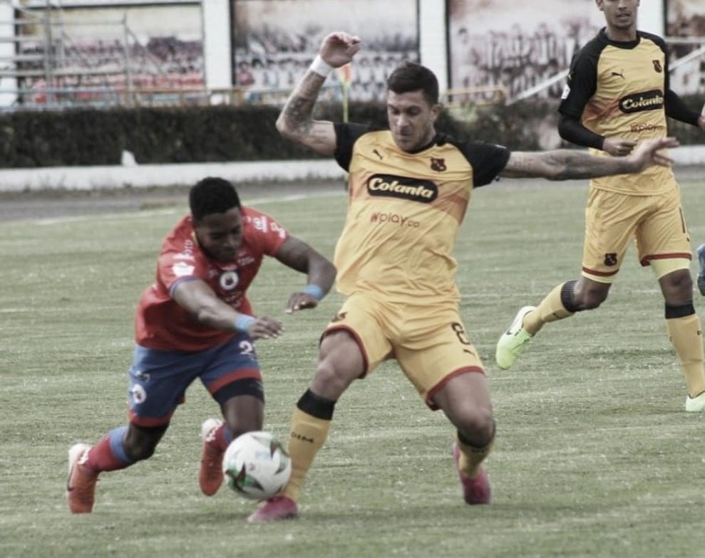 Medellín pegó primero en la ida de la semifinal de la Copa Aguila