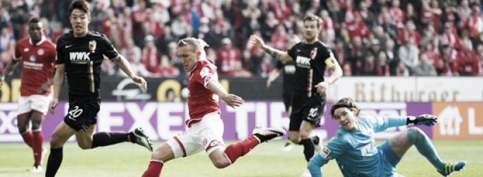 1. FSV Mainz 05 4-2 FC Augsburg: De Blasis and Clemens doubles help Mainz overcome Augsburg