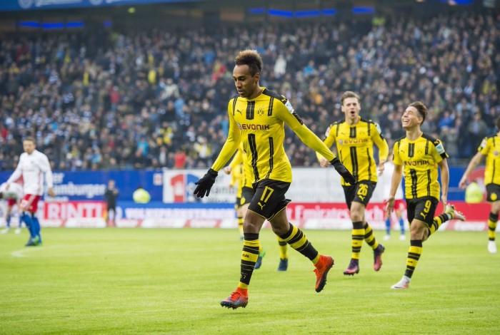 Hamburger SV 2-5 Borussia Dortmund: Aubameyang scores four as BVB halt Hamburg hoodoo