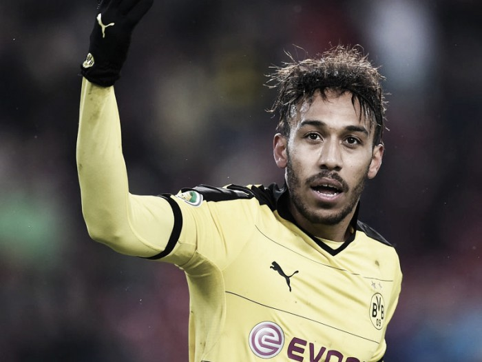 Aubameyang happy with Borussia Dortmund