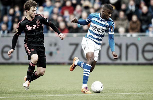 Pela Eredivisie, Zwolle e Ajax ficam no empate