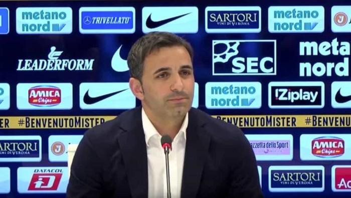 """Serie B - Pecchia protegge il suo Verona: """"Non siamo malati, lo dimostreremo"""""""