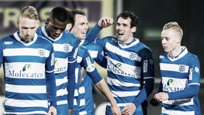Festival de goles en Zwolle para iniciar el año
