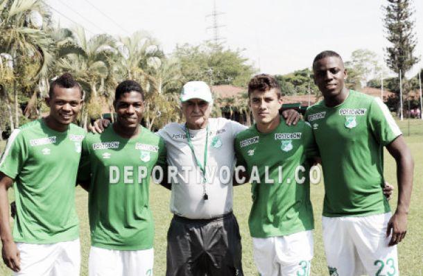 Cuatro canteranos refuerzan al Deportivo Cali