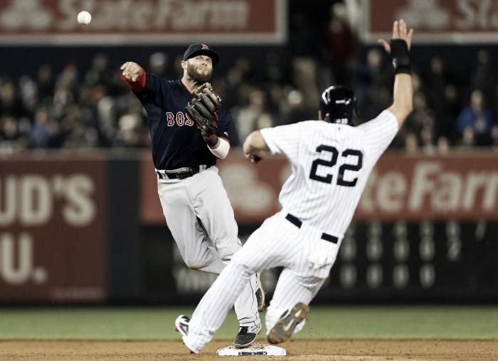 Score New York Yankees Boston Red Sox in 2016 MLB 2 4