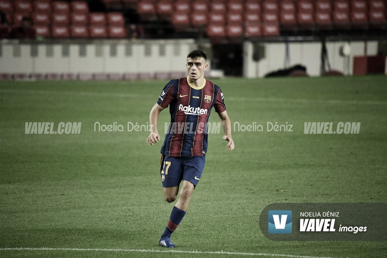 Pedri, jugador del Barcelona | Foto: Noelia Déniz - VAVEL