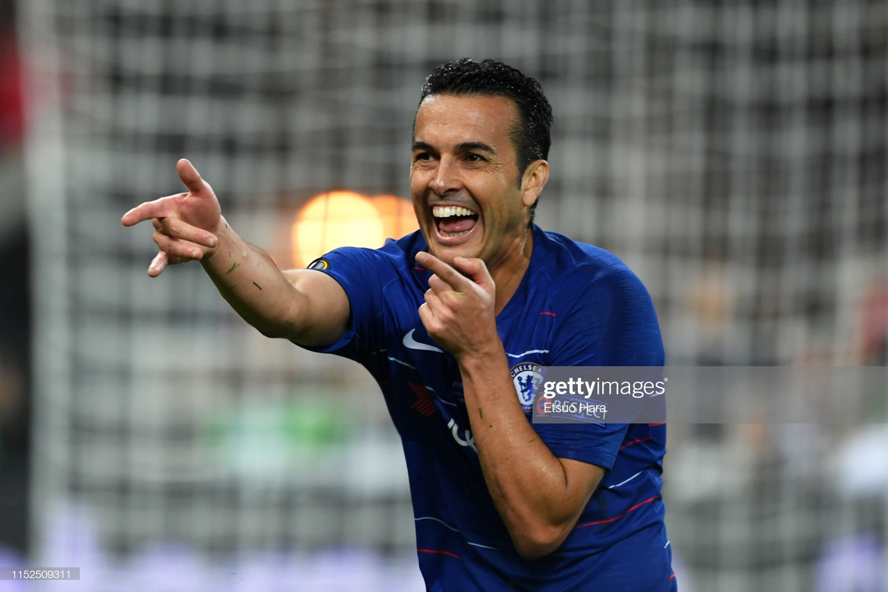 Pedro reveals all about Lampard's 'high intensity' training methods
