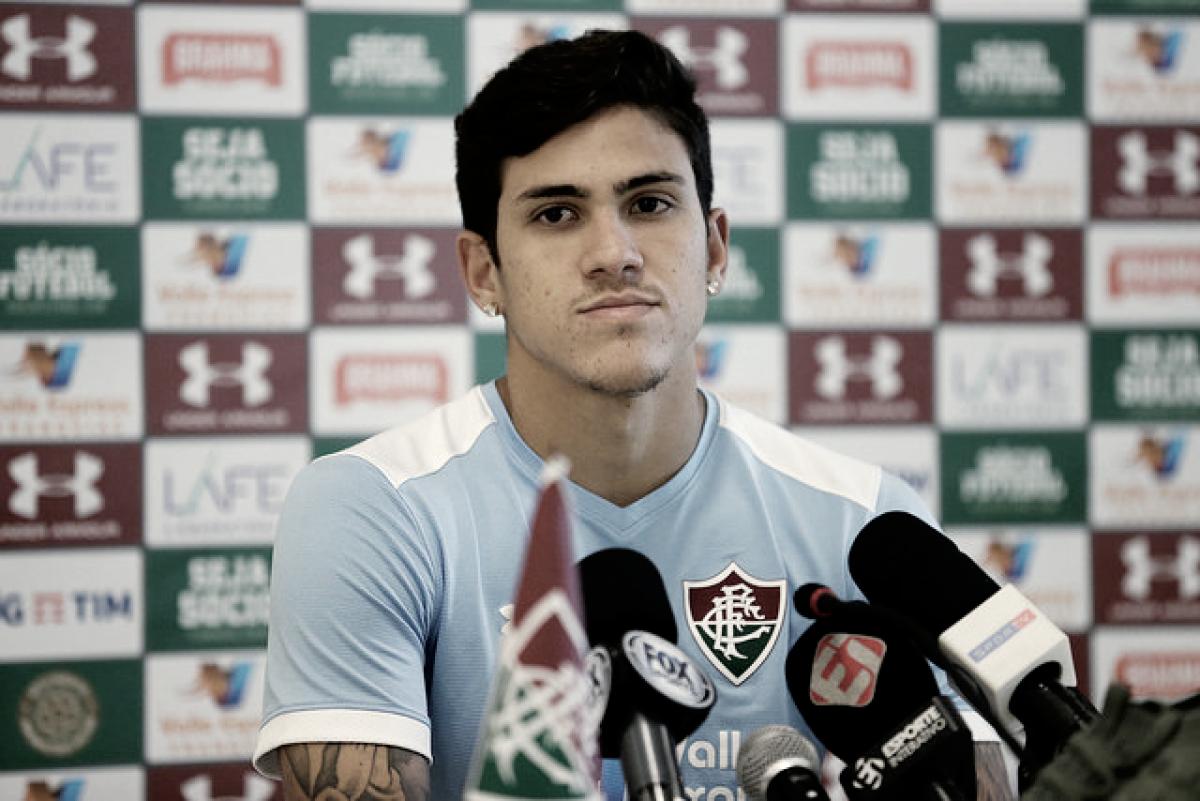 """Após marcar em retorno aos gramados pelo Fluminense, Pedro garante: """"Estou 100%"""""""