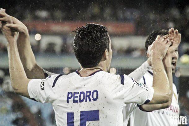 Pedro, el mejor frente al Girona según la afición