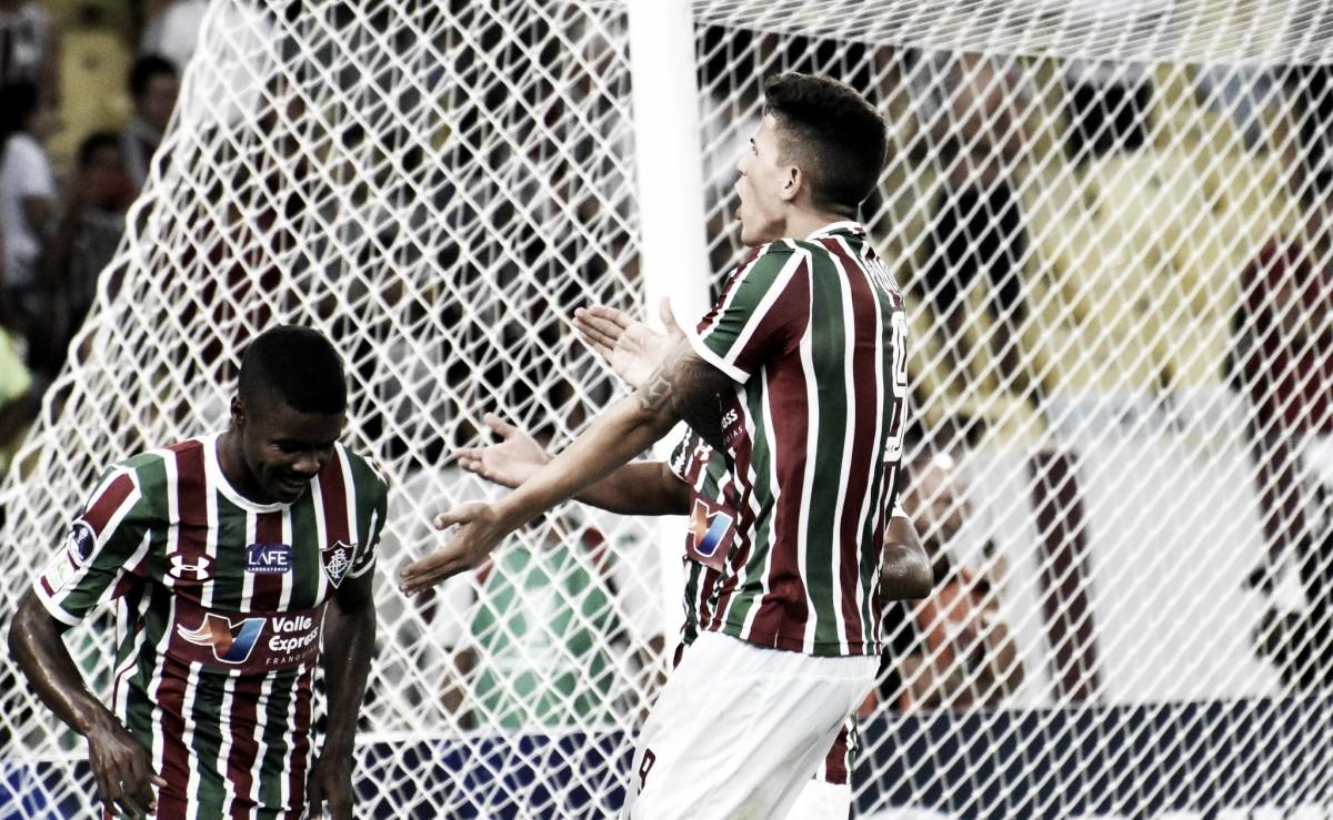 """Após goleada sobre o Nacional de Potosí, Pedro fala sobre o jogo e a fase que vive: """"Era meu sonho"""""""