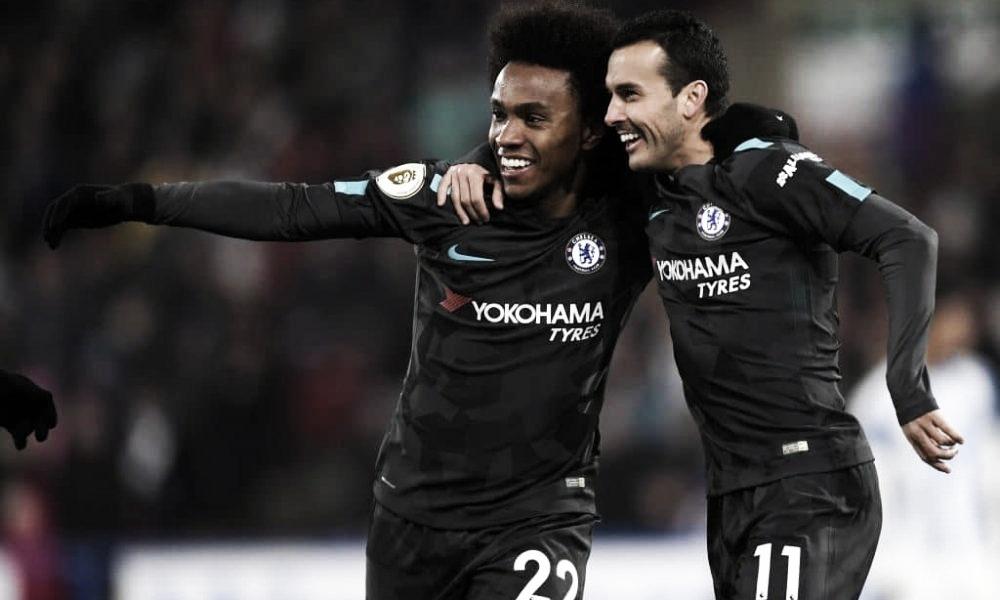 Pedro y Willian renuevan con el Chelsea hasta final de temporada