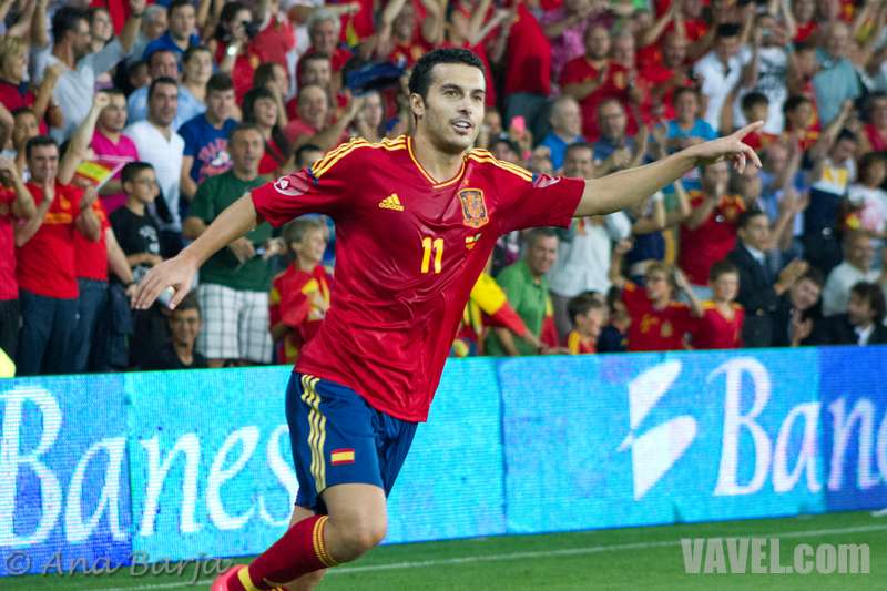 España golea a Arabia Saudí con doblete de Pedro, así lo vivimos