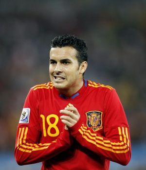 Pedro heredará el dorsal de Villa en la Eurocopa