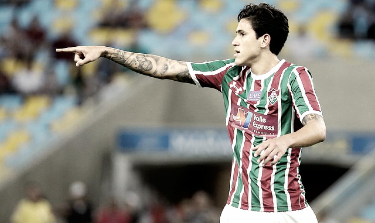 Pedro desperta interesse europeu e Fluminense recusa primeira proposta pelo  centroavante. Foto  Lucas Merçon Fluminense 4149a31591c31